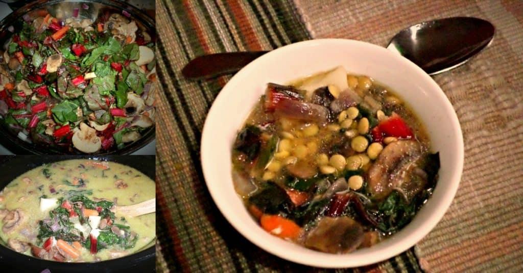 Delicious Vegetable and Lentil Soup Recipe