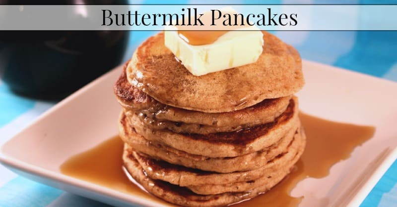 Sprouted Buttermilk Pancakes