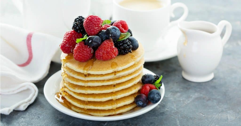 Healthy Homemade Pancakes Recipe
