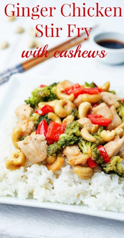 Chicken Chicken Stir Fry With Cashews