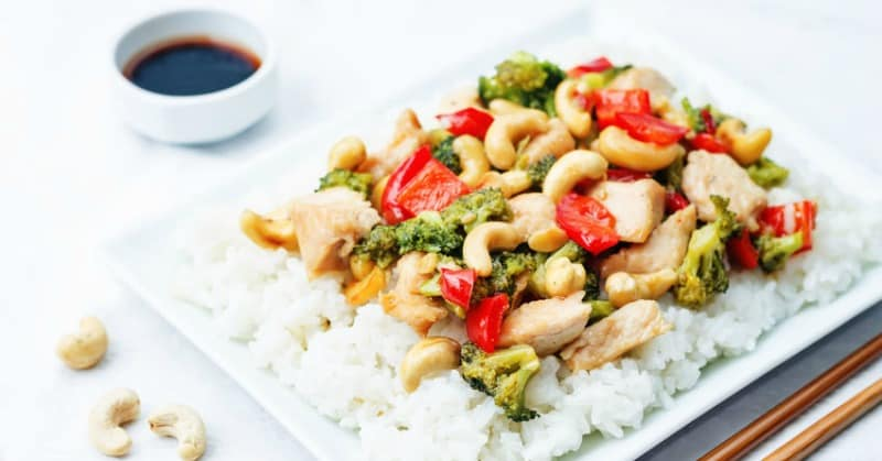 Ginger Chicken Stir Fry Recipe