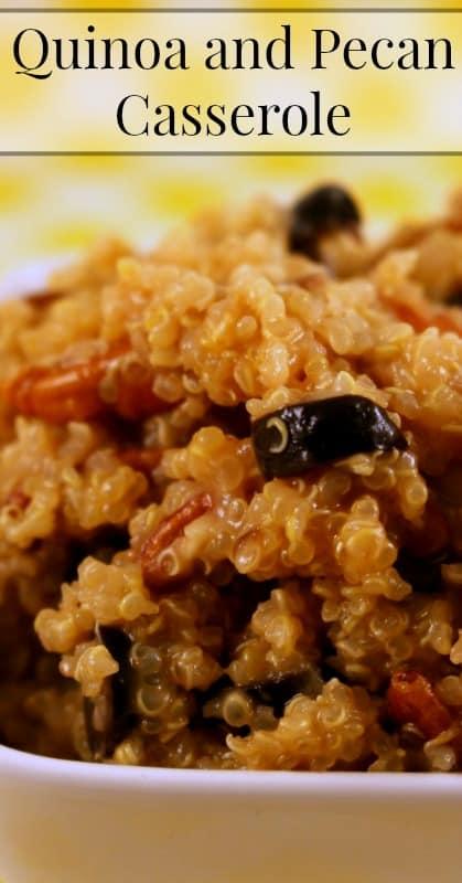 Quinoa and Pecan Casserole