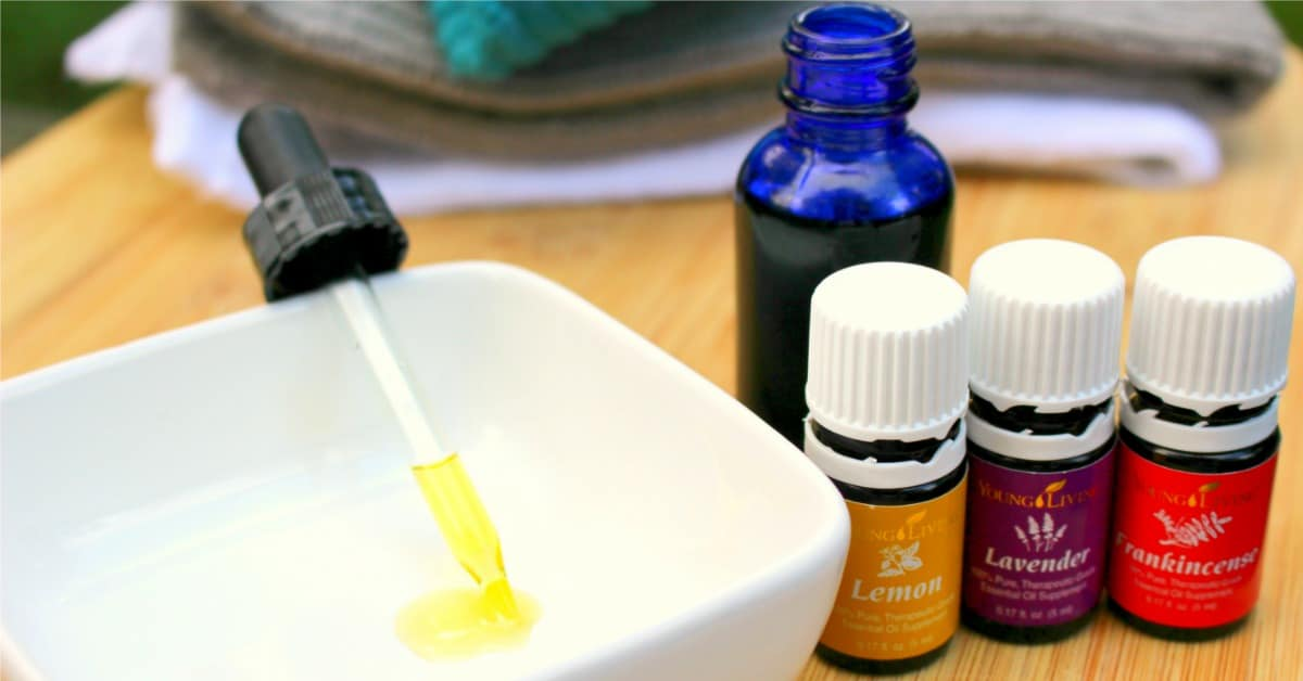 Homemade Facial Cleansing Oil Recipe