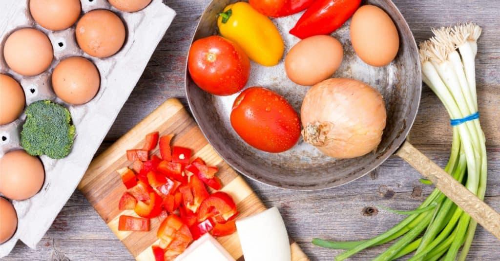 Bell Pepper Frittata Recipe