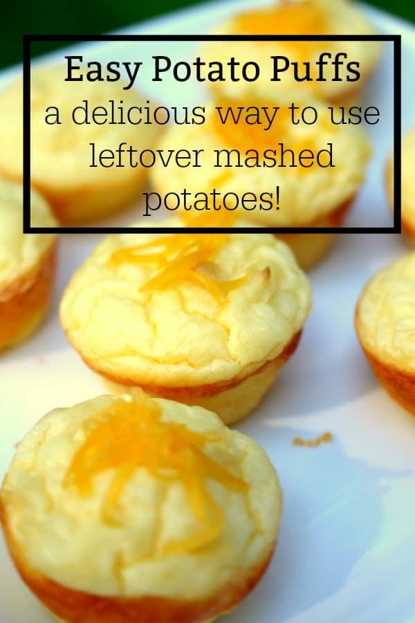 How Do You Make Potato Puffs