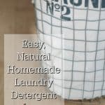 Natural Homemade Laundry Detergent