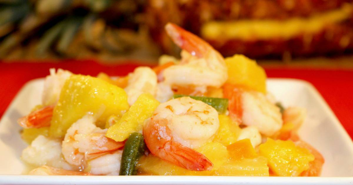 Pineapple Shrimp Stir Fry Recipe
