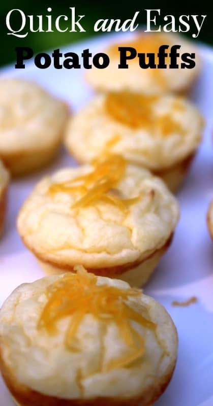 Quick and Easy Potato Puffs (Grain-Free)