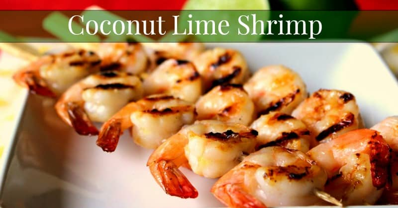 Coconut Lime Shrimp