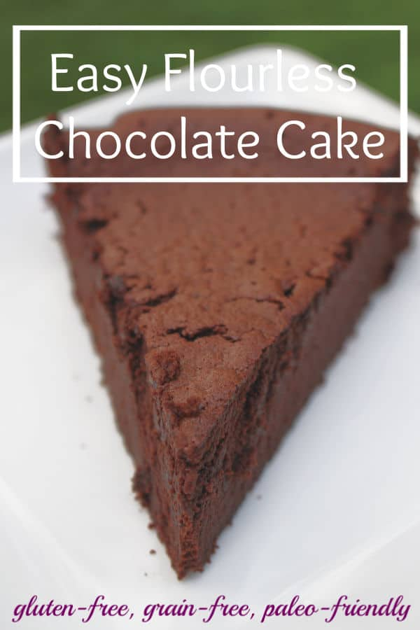 Healthy Flourless Chocolate Cake Recipe