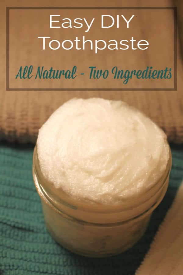 Easy DIY Toothpaste Recipe with Coconut Oil and Baking Soda