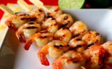 Coconut Lime Shrimp Kabob Recipe