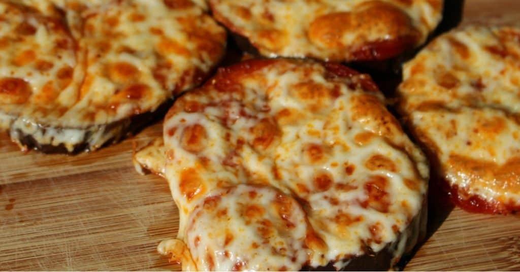 Kid Friendly Recipe Eggplant Mini Pizzas