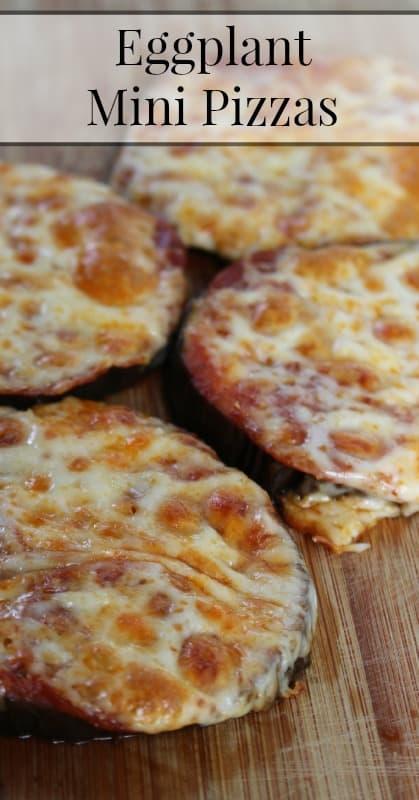 Gluten Free Pizza Recipe Eggplant Mini Pizzas
