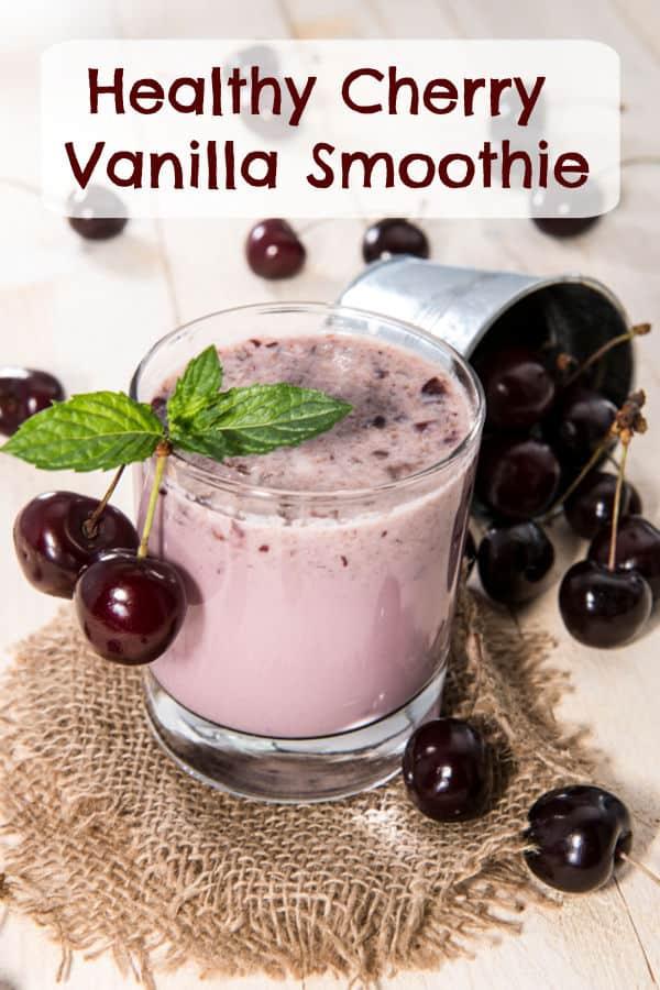 Cherry Vanilla Smoothie Recipe