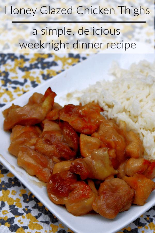 Easy Honey Chicken Recipe Using Chicken Thighs