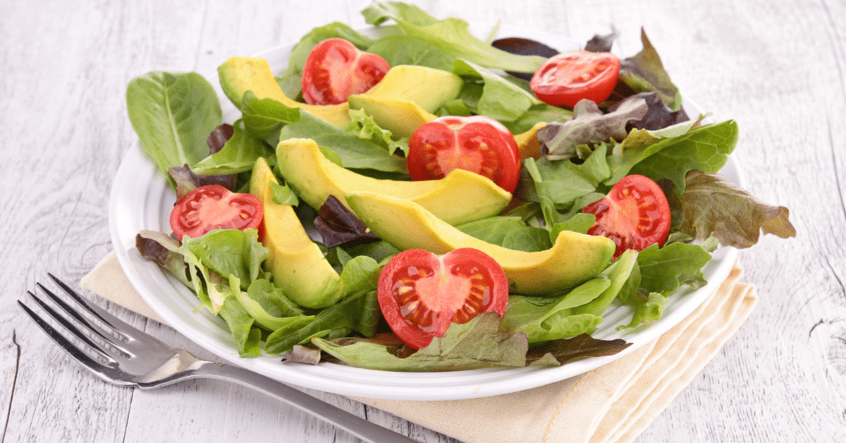 Salad Recipe With Tomato Avocado and Goat Cheese