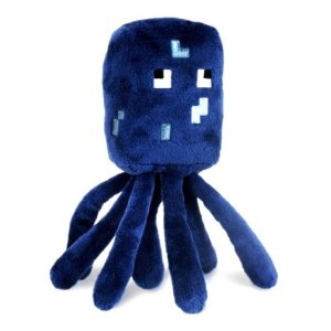Minecraft Plush Squid