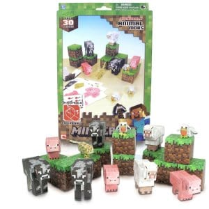 Minecraft Paper Craft Animal Mob Set