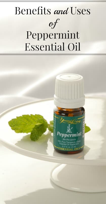 Benefits of Peppermint Essential Oil pin