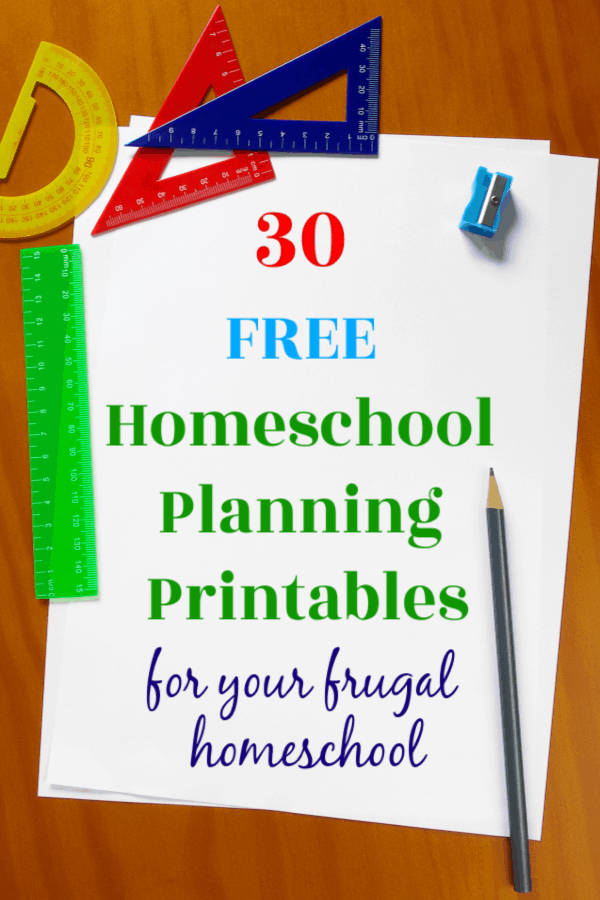 photo about Free Printable Homeschool Planner named 30 Totally free Homeschool Developing Printables