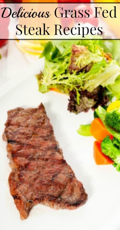 Grass Fed Steak Recipes pin