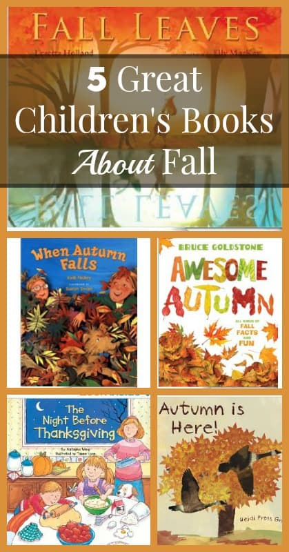 Great Childrens Books About Fall
