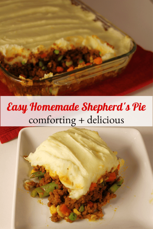 Easy Homemade Shepherd's Pie Recipe