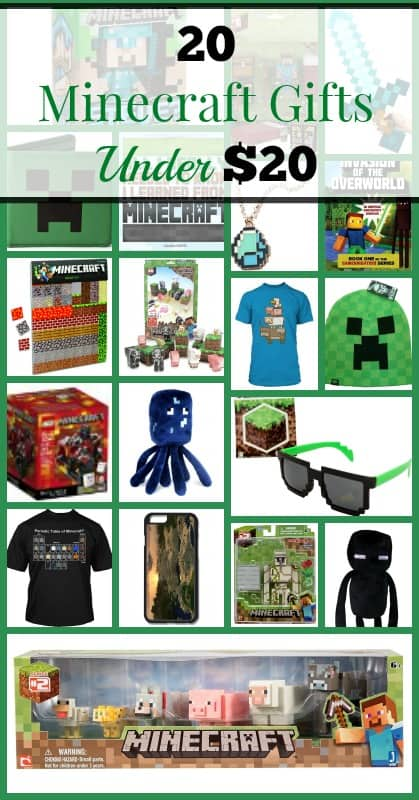Minecraft Gifts Pinterest