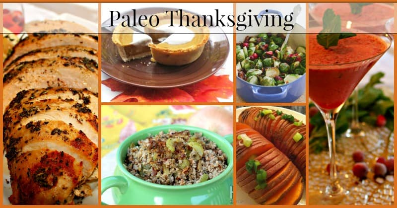 Paleo Thanksgiving Meal Plan