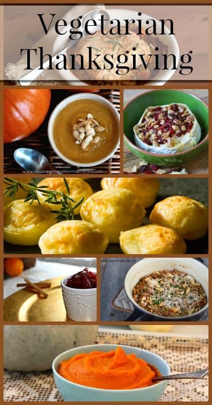 Vegetarian Thanksgiving Pinterest