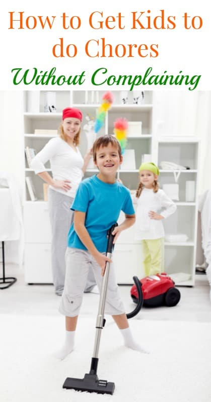 How to Get Kids to Do Their Chores