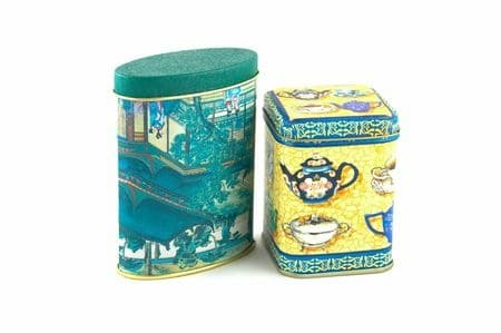 Tea Tins for Storage