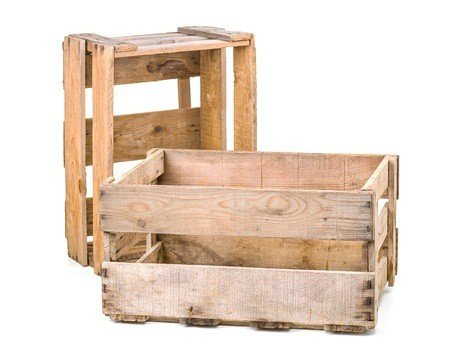 Wooden Crates as Decor