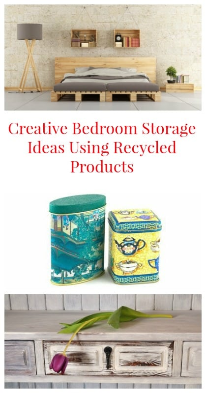 Creative Bedroom Storage Ideas Using Recycled Products