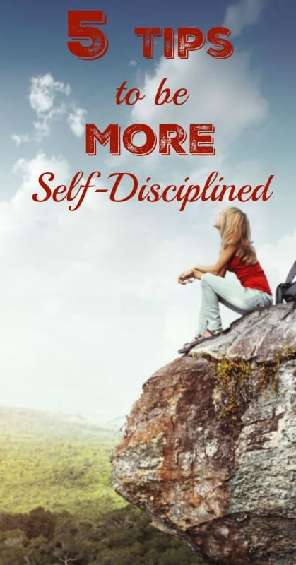 How to be More Self-Dsciplined