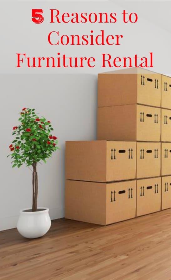 5 Reasons to Consider Furniture Rental