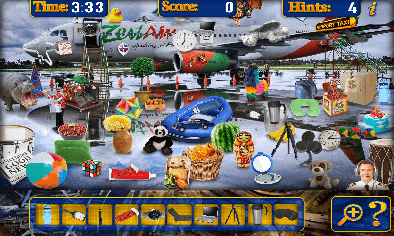 Hidden Objects App for Android