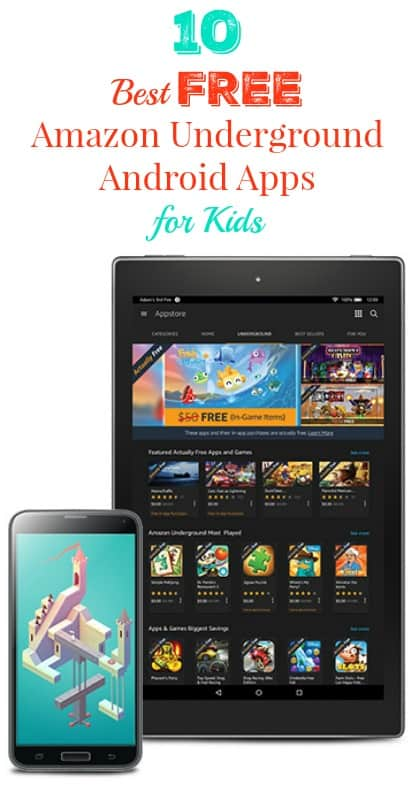 10 Best FREE Android Apps for Kids from Amazon Underground