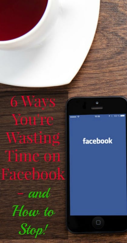 How to Stop Wasting Time on Facebook pin