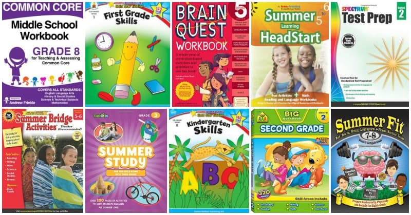 The Best Workbooks for Summer Learning