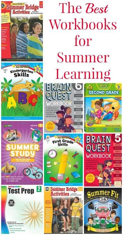 The Best Workbooks for Summer Learning