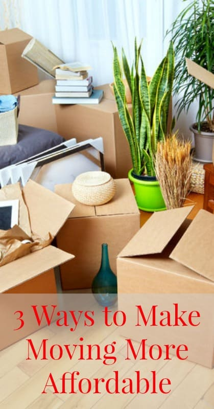 3 Ways to Make Moving More Affordable