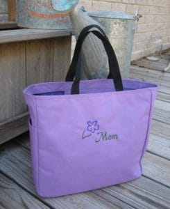 Pretty Tote Bag for Moms