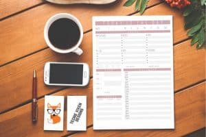 Printable Planner 1