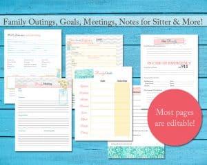 Printable Planner 2