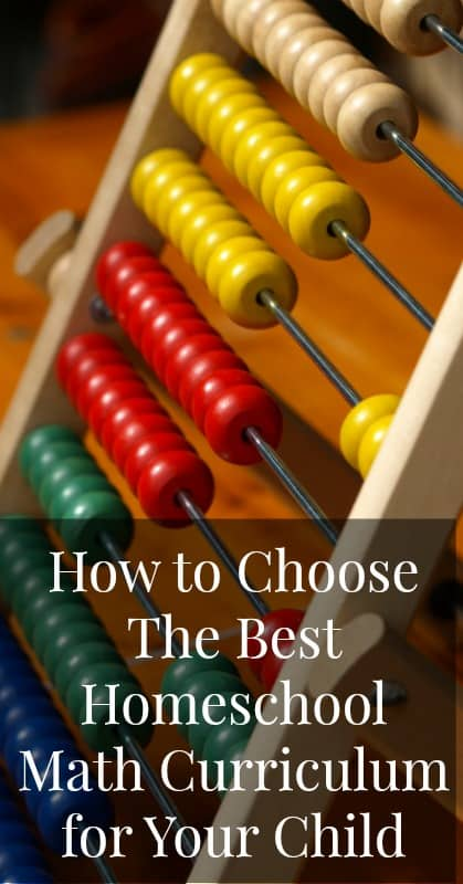 How to Choose the Best Homeschool Curriculum for Your Child