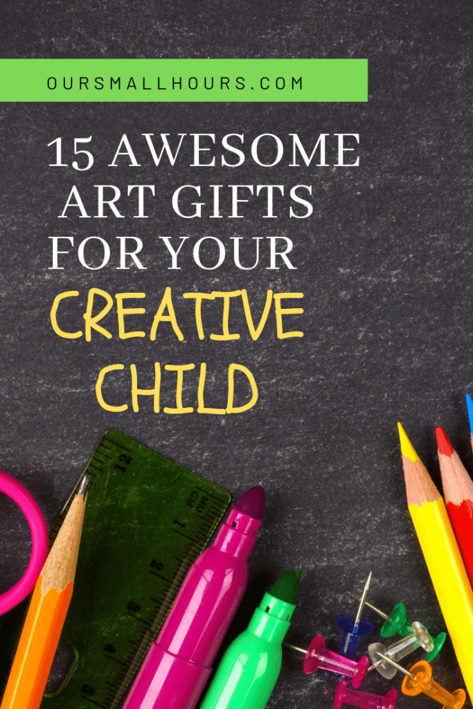 Art Gift Ideas for Kids