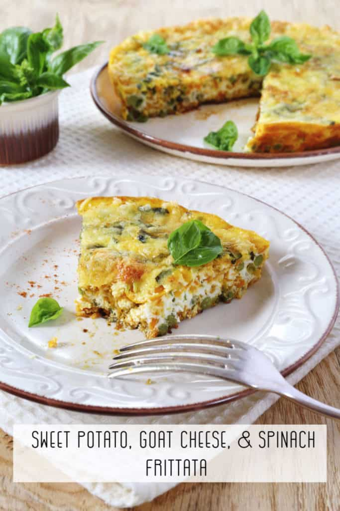 Sweet Potato Goat Cheese and Spinach Frittata Recipe