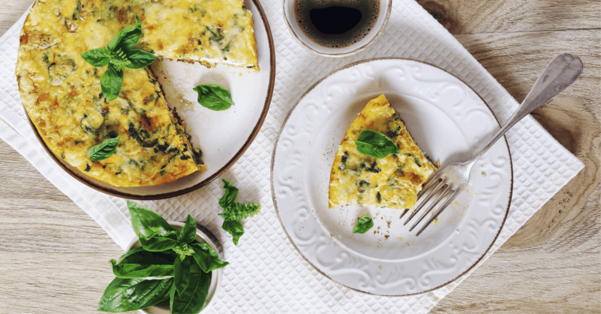 Healthy Sweet Potato Frittata Recipe